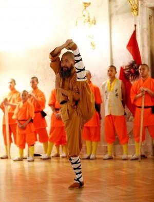 Sondervorführung von Shaolinmöchen für Kinder aus von der Caritas betreuten Häusern und den Caritas Lerncafes, sowie Stipendiatinnen und Stipendiaten von START Wien im Außenministerium. Wien, 02.02.2014, FOTO: Dragan Tatic