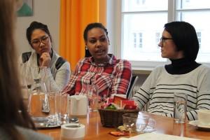 START-Salzburg im Gespräch mit Landesrätin Berthold