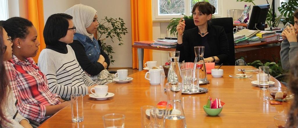 START-Salzburg im Gespräch mit Landesrätin Martina Berthold