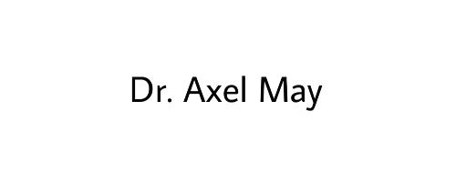 Dr. Axel May