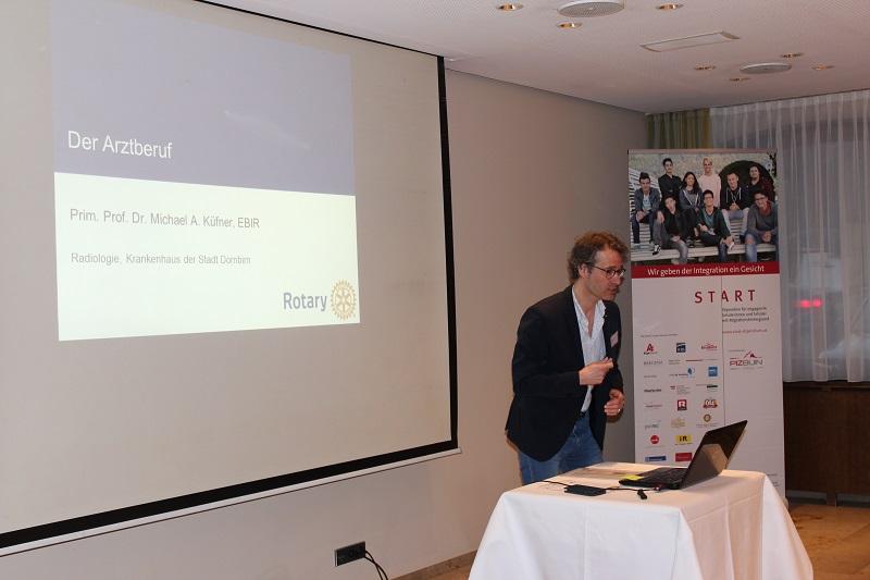 Berufsberatung mit den Vorarlberger Rotary Clubs – START-Stipendien